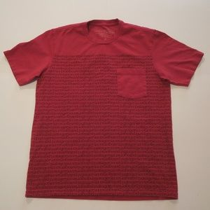 Patagonia Mens Red T-Shirt Size Small